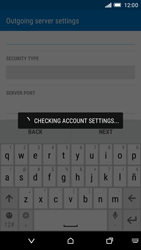 HTC One M9 - E-mail - Manual configuration - Step 16