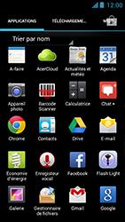 Acer Liquid Z5 - E-mail - Configuration manuelle - Étape 3