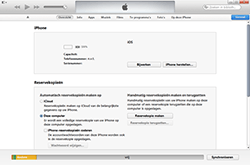 Apple The New iPad met iOS 8 - Software - Back-up maken of terugplaatsen - Stap 3