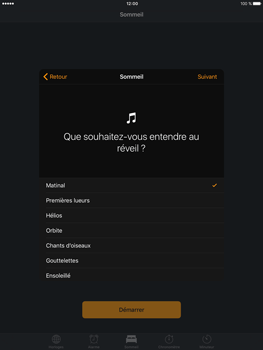 Apple iPad Pro 9.7 - iOS 10 - iOS features - Coucher - Étape 9