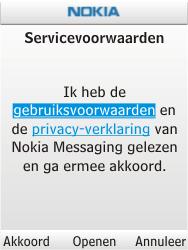 Nokia C2-01 - E-mail - handmatig instellen - Stap 8
