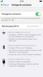 Apple iPhone 6s - iOS 11 - Internet et connexion - Utiliser le mode modem par USB - Étape 8