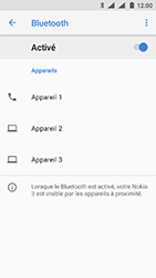 Nokia 3 - Android Oreo - Bluetooth - connexion Bluetooth - Étape 9