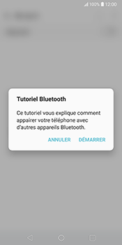 LG V30 - Bluetooth - Jumeler avec un appareil - Étape 5