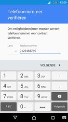 Sony Xperia M5 (E5603) - Applicaties - Account aanmaken - Stap 8