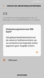 Samsung Galaxy A3 (2017) - Android Nougat - Contacten en data - Contacten kopiëren van toestel naar SIM - Stap 13