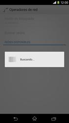 Sony Xperia M2 - Red - Seleccionar una red - Paso 7