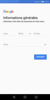 Huawei P Smart - Applications - Créer un compte - Étape 7