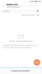 Samsung Galaxy S7 - Android Nougat - E-mail - Escribir y enviar un correo electrónico - Paso 18