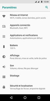Motorola Moto G6 - Internet et connexion - Désactiver la connexion Internet - Étape 4