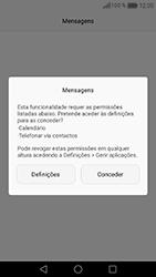 Huawei Honor 8 - SMS - Como configurar o centro de mensagens -  3