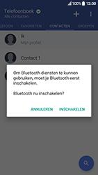 HTC 10 - Android Nougat - Contactgegevens overzetten - delen via Bluetooth - Stap 10