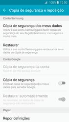 Samsung Galaxy S6 Edge - Repor definições - Como repor definições de fábrica do telemóvel -  6