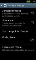 Samsung S7560 Galaxy Trend - Internet - Activer ou désactiver - Étape 6