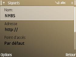 Nokia E72 - Internet - Navigation sur Internet - Étape 13
