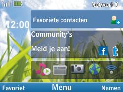 Nokia C3-00 - Bellen - in het buitenland - Stap 10