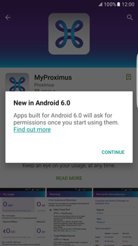 Samsung Galaxy S6 edge+ - Android M - Applications - MyProximus - Step 8