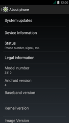 Acer Liquid Z410 - Network - Installing software updates - Step 6
