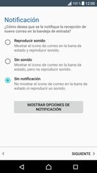 Sony Xperia E5 (F3313) - E-mail - Configurar correo electrónico - Paso 22