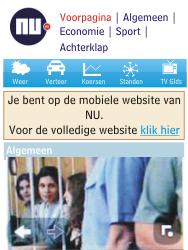 Nokia Asha 203 - Internet - Hoe te internetten - Stap 16