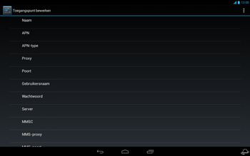 Acer Iconia Tab A3 - Internet - Handmatig instellen - Stap 13