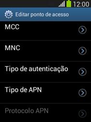 Samsung Galaxy Pocket Neo - Internet no telemóvel - Como configurar ligação à internet -  16