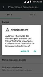 Alcatel U5 - Aller plus loin - Désactiver les données à l'étranger - Étape 9