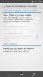 Sony Xperia M2 - Repor definições - Repor definições de fábrica do telemóvel -  6