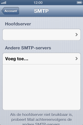 Apple iPhone 4 - E-mail - Handmatig instellen - Stap 16