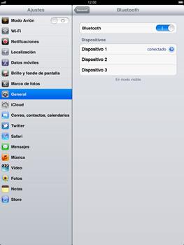 Apple iPad 2 - Bluetooth - Conectar dispositivos a través de Bluetooth - Paso 8