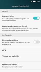 Huawei Y5 - Red - Seleccionar una red - Paso 5