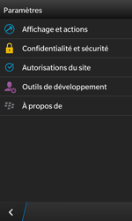 BlackBerry Z10 - Internet - Configuration manuelle - Étape 16