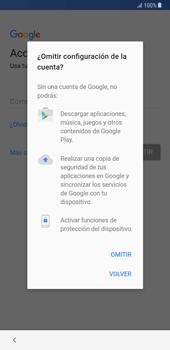 Samsung Galaxy Note 8 - Primeros pasos - Activar el equipo - Paso 9
