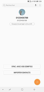 Samsung Galaxy A7 2018 - Contact, Appels, SMS/MMS - Ajouter un contact - Étape 5