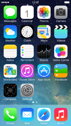 Apple iPhone 5 iOS 7 - MMS - Sending pictures - Step 1