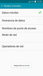 Samsung Galaxy S6 - Red - Seleccionar una red - Paso 9