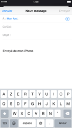 Apple iPhone 6 Plus iOS 8 - E-mail - envoyer un e-mail - Étape 5