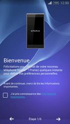 Sony Xpéria E3 - Premiers pas - Créer un compte - Étape 4