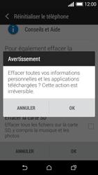 HTC Desire 510 - Aller plus loin - Restaurer les paramètres d'usines - Étape 7