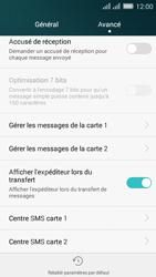 Huawei Y635 Dual SIM - SMS - Configuration manuelle - Étape 6