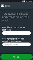 Doro 8035 - Email - Manual configuration IMAP without SMTP verification - Step 19