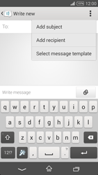 Sony Xperia T3 - Mms - Sending a picture message - Step 5