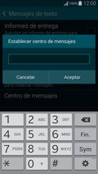 Samsung G850F Galaxy Alpha - Mensajería - Configurar el equipo para mensajes de texto - Paso 8