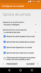Crosscall Action X3 - E-mail - Configuration manuelle (outlook) - Étape 13