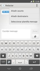 Sony Xperia Z1 - Mensajería - Escribir y enviar un mensaje multimedia - Paso 11