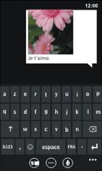 Nokia Lumia 800 - MMS - envoi d'images - Étape 9