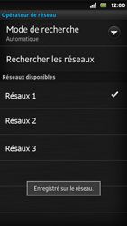 Sony ST25i Xperia U - Réseau - Utilisation à l