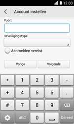 Huawei Ascend Y330 - E-mail - Account instellen (POP3 zonder SMTP-verificatie) - Stap 16