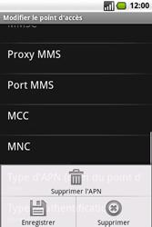 Samsung I7500 Galaxy - Internet - Configuration manuelle - Étape 11
