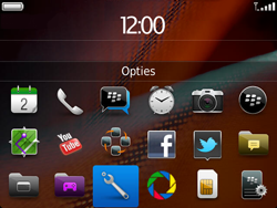 BlackBerry 9900 Bold Touch - Instellingen - configuratiebericht ontvangen - Stap 3